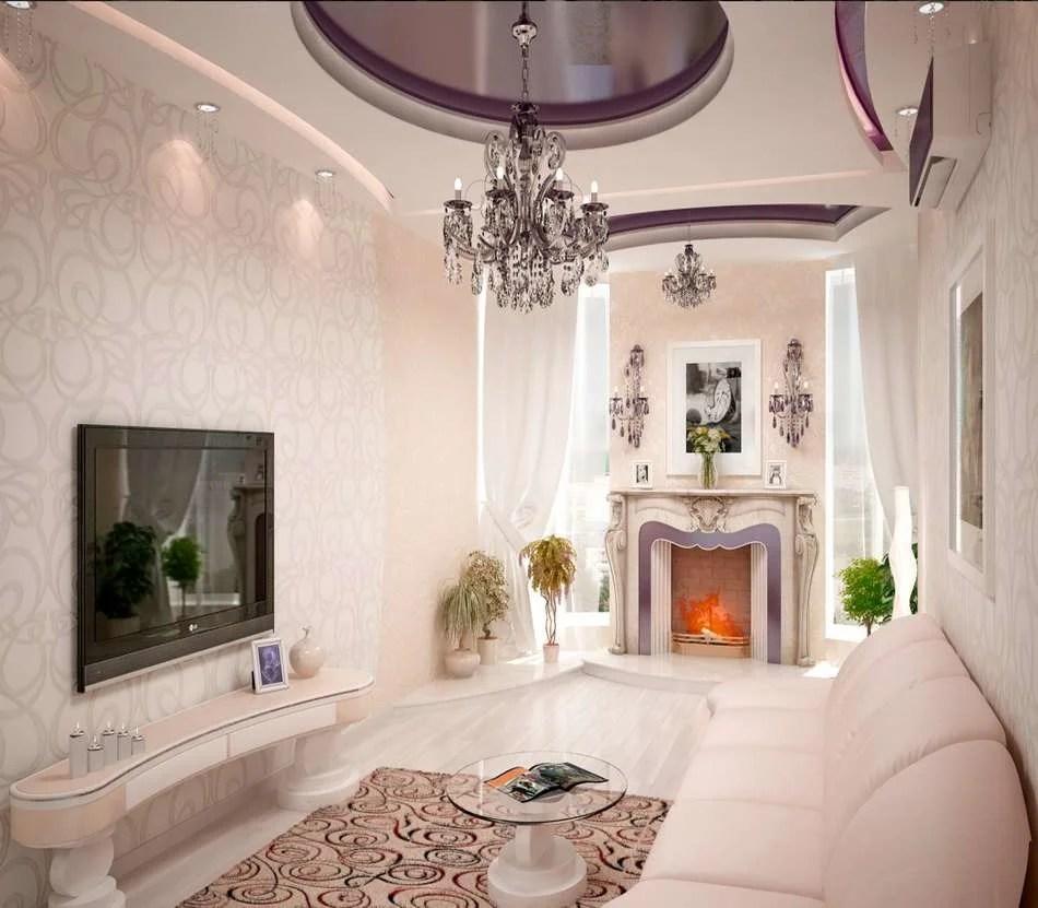 «Лучше подобрать полотно для стен в гостиную молочного ...