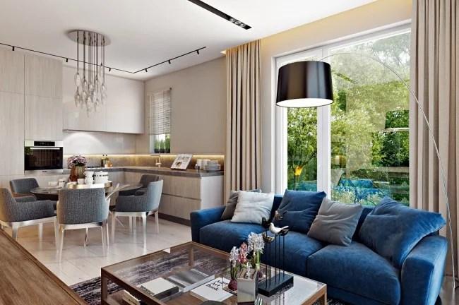 «Кухня-гостиная 30 кв м: дизайн в современном и ...