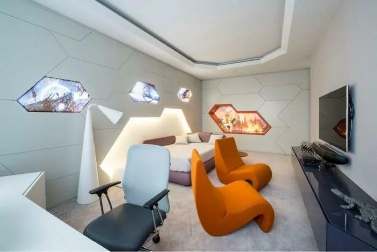 «Хай-тек в дизайне интерьеров, главные особенности стиля ...