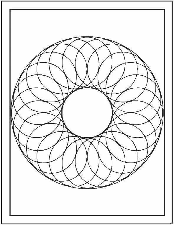 «Раскраски спираль, Раскраска Спираль узор.» — карточка ...