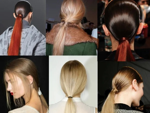 «Конский хвост, как вариант прически для длинных волос в ...