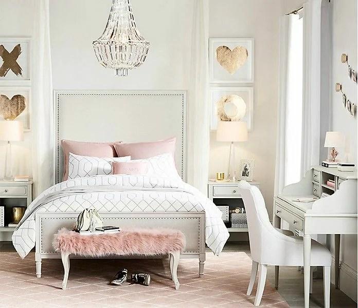 «Белая спальня (175 фото): дизайн в белых тонах с яркими ...