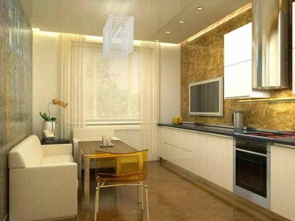 """""""Кухня-гостиная 14 кв. м дизайн фото: с диваном проект ..."""