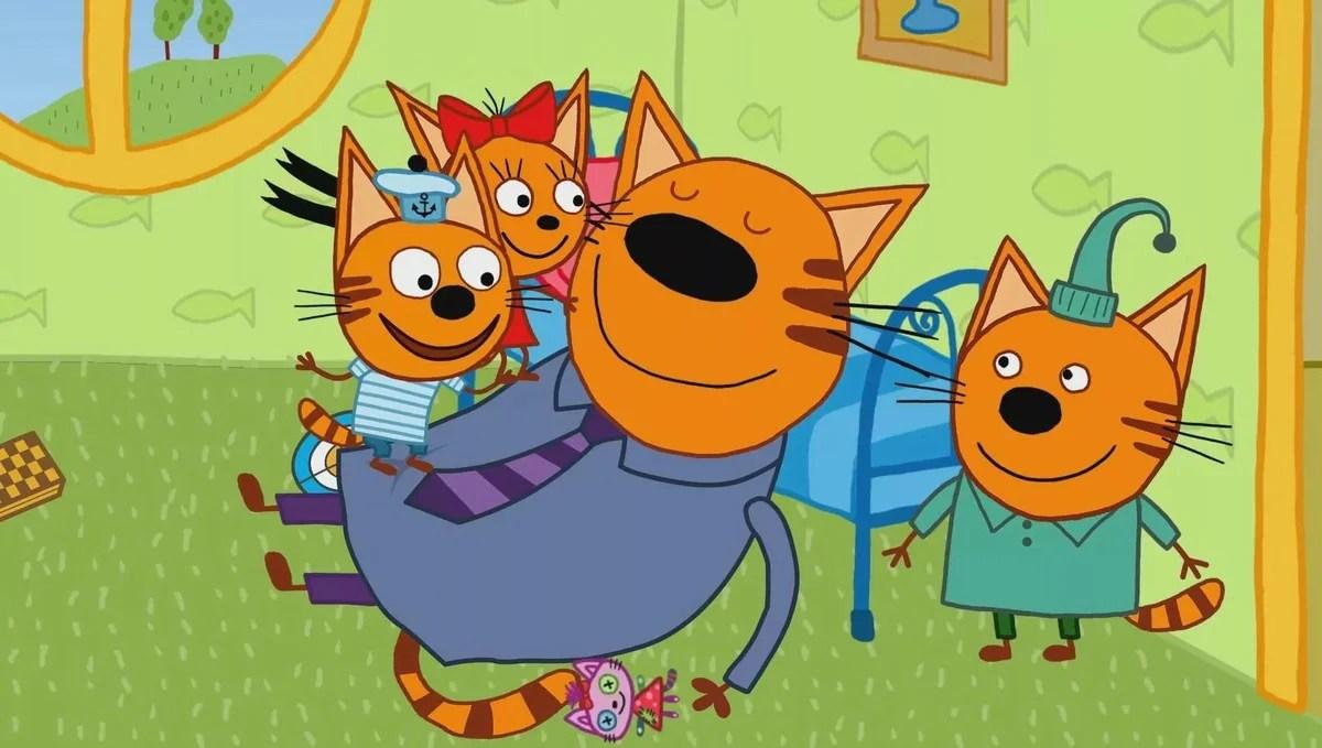 «Три кота - картинки из мультфильма, постеры» — карточка ...