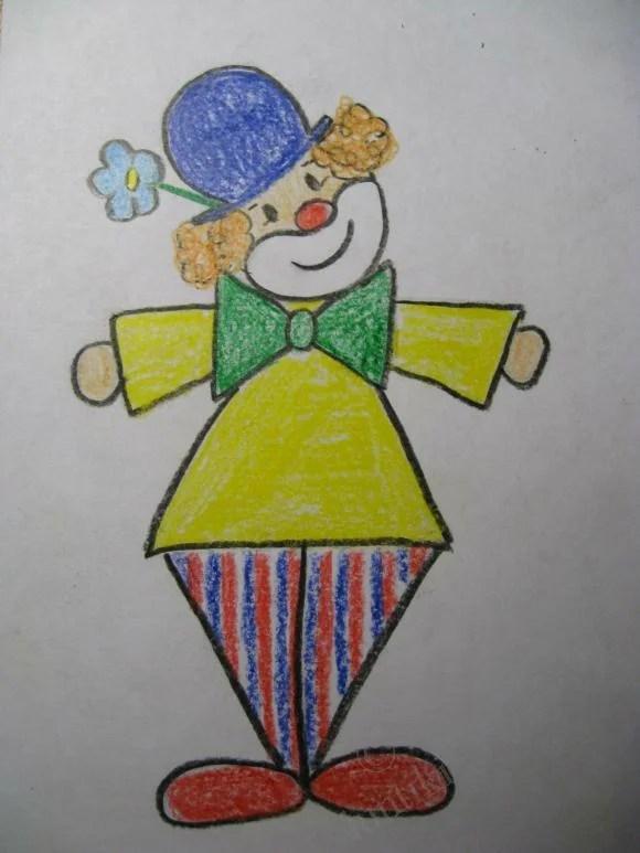 «Чудесные фото Как рисовать клоуна» — карточка ...