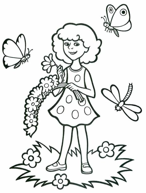 «Раскраска на тему Лето. Распечатать картинки для детей ...