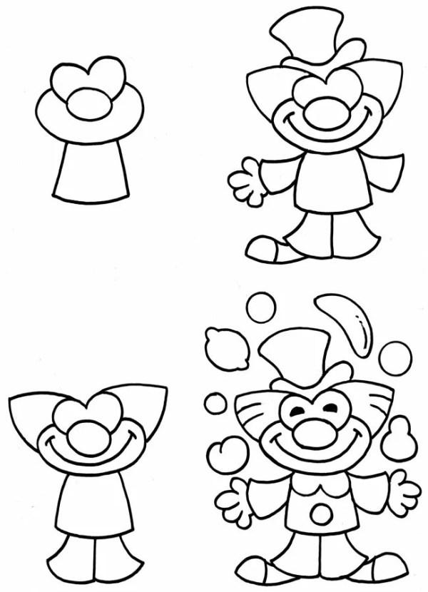 «Отличные фото Как рисовать клоуна» — карточка ...