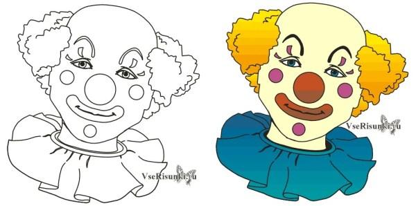 «Необыкновенные фото Как рисовать клоуна» — карточка ...