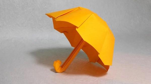 «Оригами зонтик от Lazy Paper.» — карточка пользователя ...