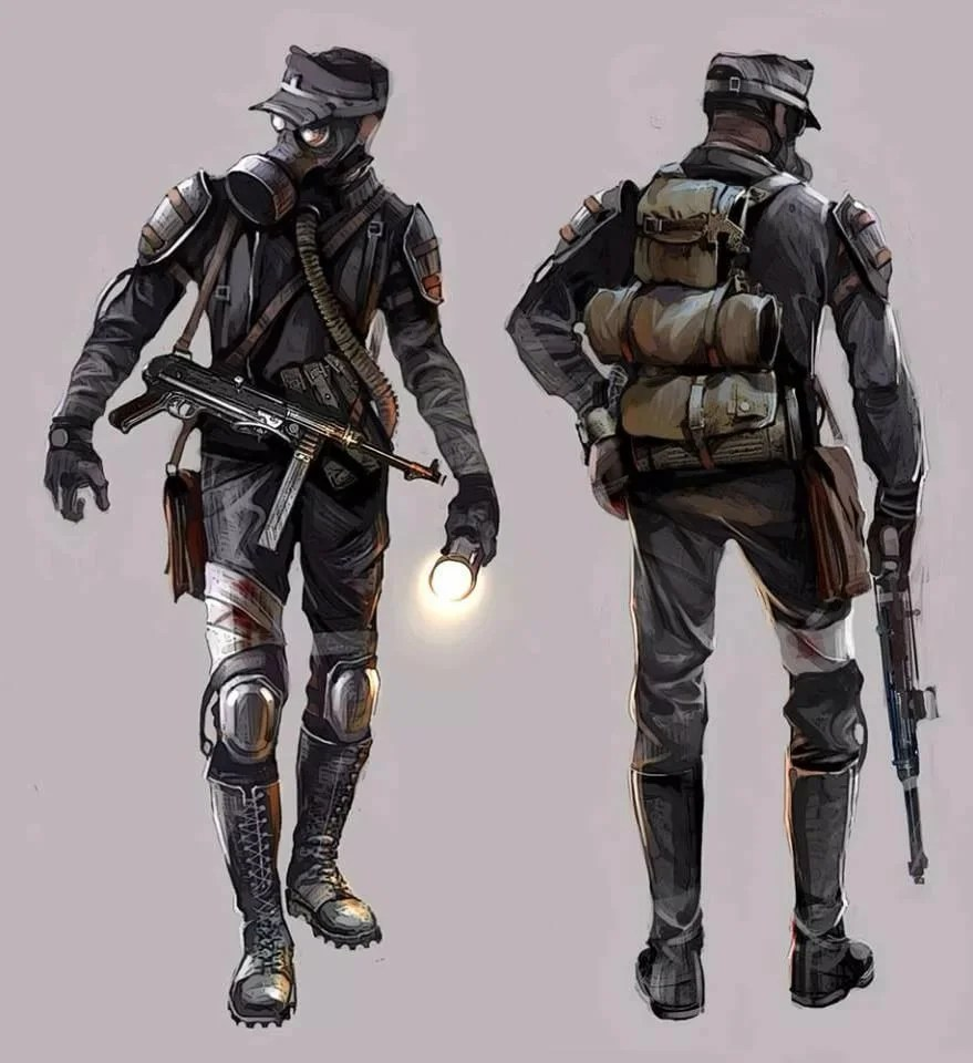 «Metro Redux - The Fourth Reich Character design in 2019 ...
