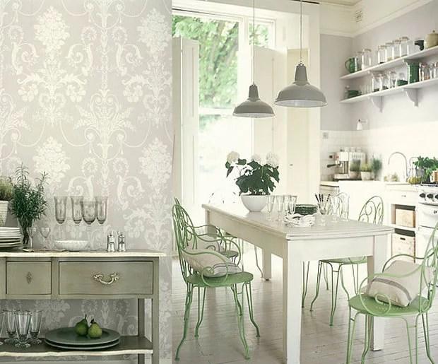 «Выбор обоев на кухню: цвет, структура, технология ...