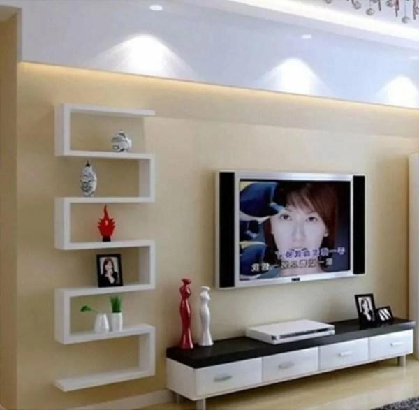«Настенные полки для гостиной стены настенные перегородки ...