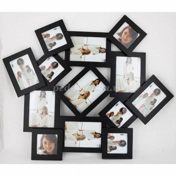 «Оформление интерьера своими руками Рамочка для фотографий ...
