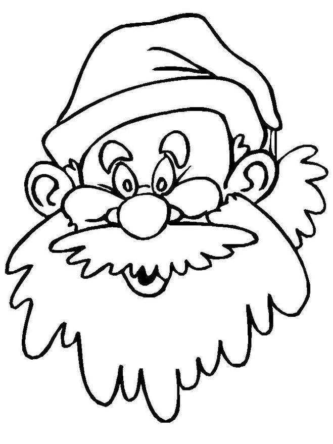«Как нарисовать лицо Деда Мороза на Новый Год» — карточка ...