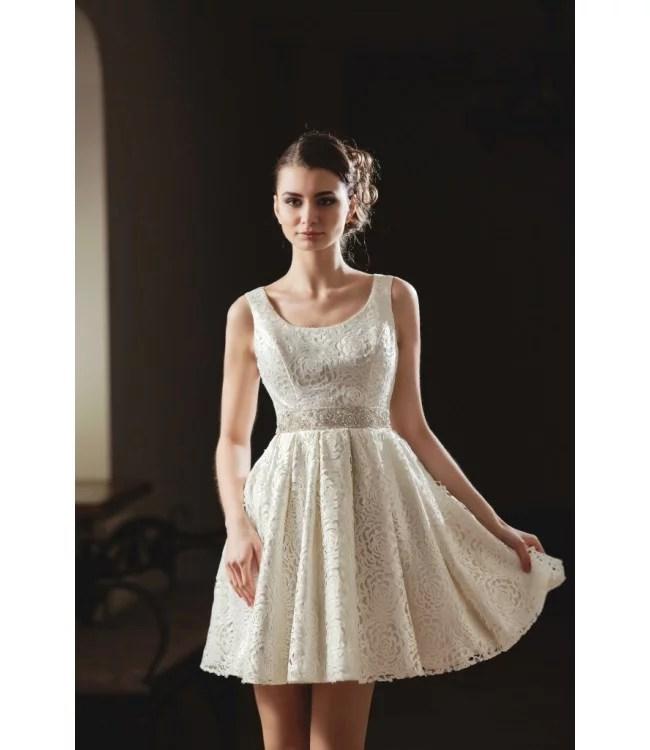 «Короткое свадебное платье: Libby midi | Купить платье ...