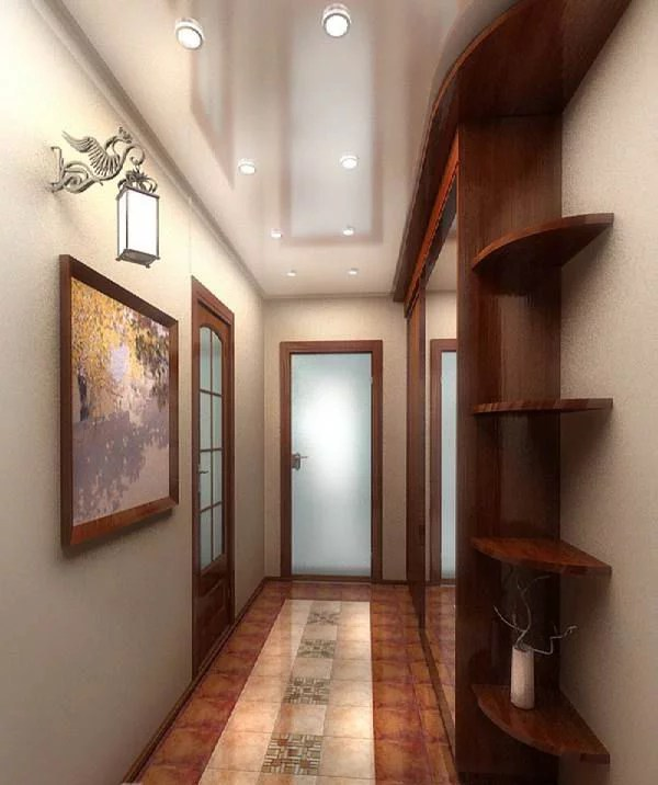 «Дизайн межкомнатного коридора Коридор фото, ремонт ...