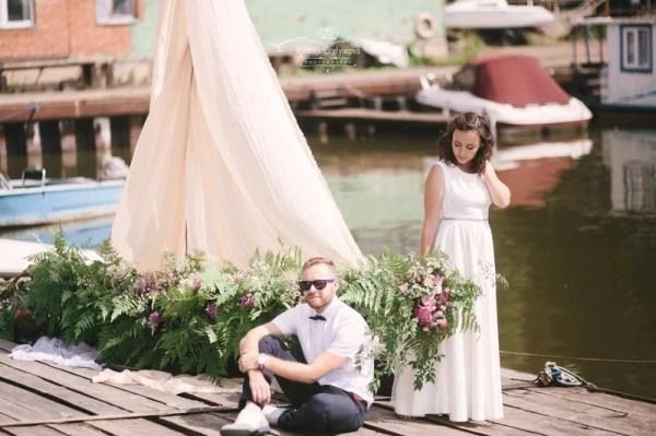 «Свадебное фото в порту в стиле fine art» — карточка ...