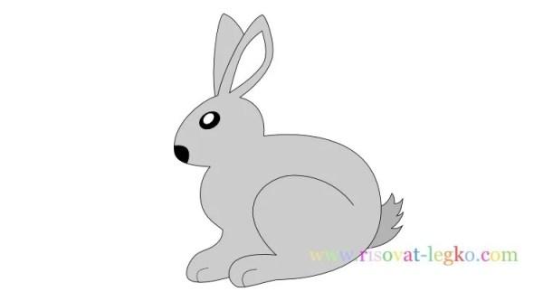 «Как нарисовать кролика для детей. Легкий пошаговый урок ...