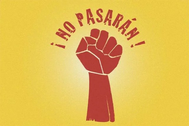 "What does the phrase ""But Pasaran!""?"