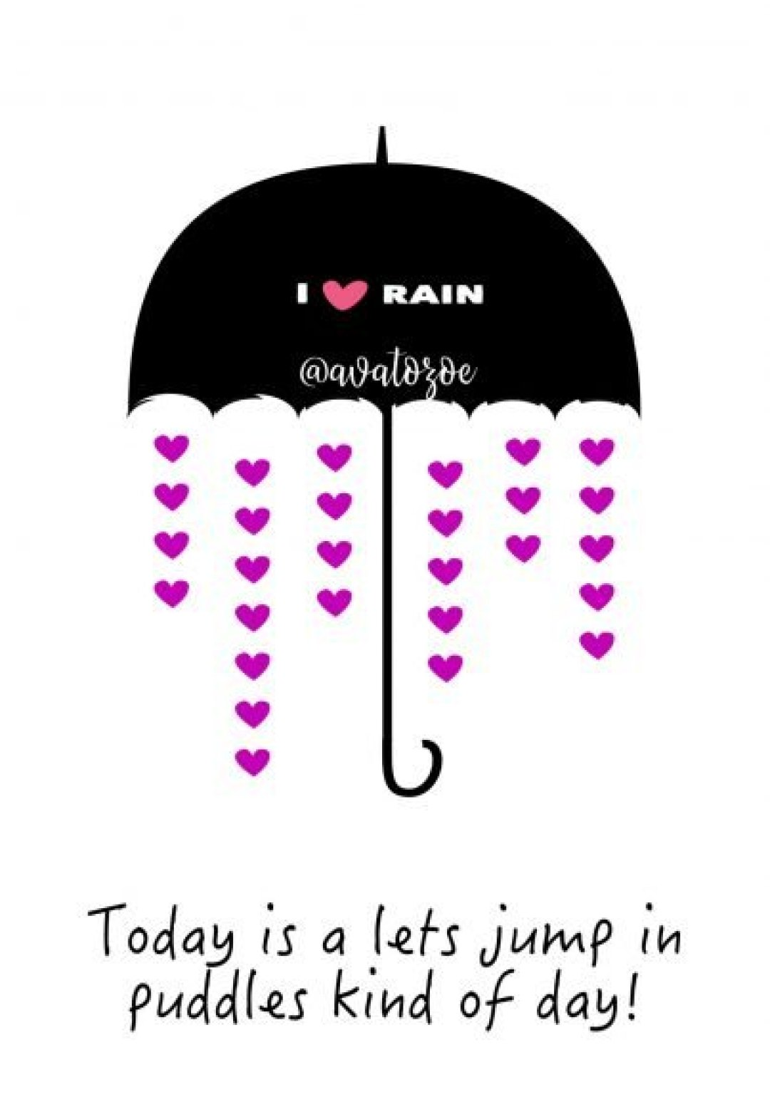 kids rainy day printable