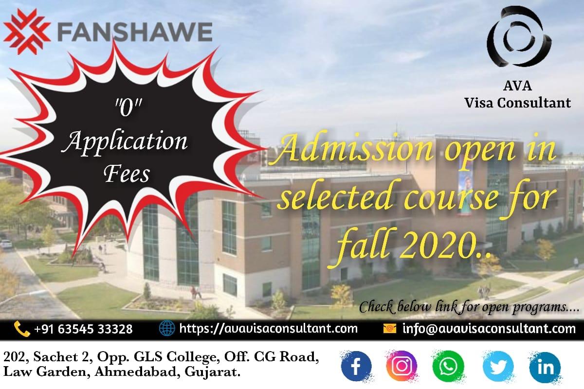 Study In Fanshawe College Canada Ava