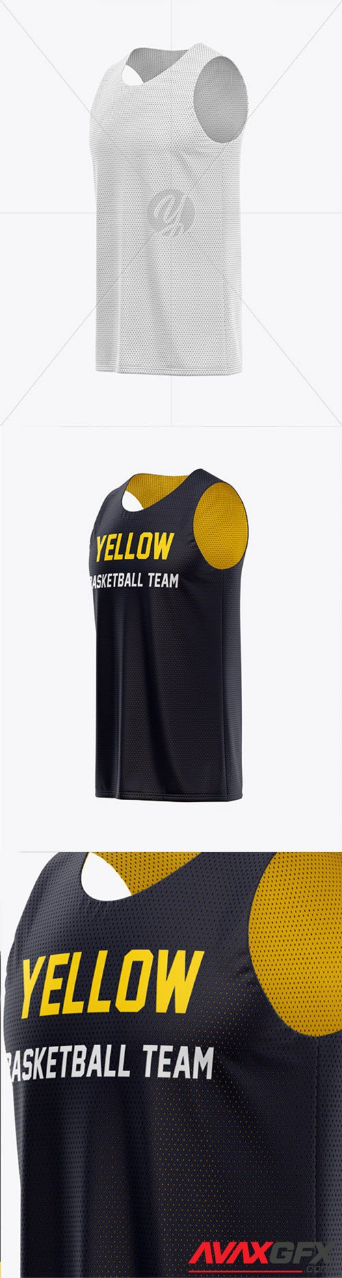 Download Men's Basketball Jersey Mockup - Side View 40533 TIF ...
