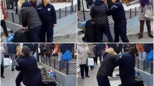 Žena nokautirala policajku na pijaci - Avaz, Dnevni avaz, avaz.ba