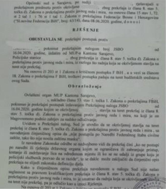 Dokument Suda - Avaz, Dnevni avaz, avaz.ba