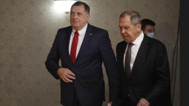 Dodik i Lavrov: RS ne prihvata integraciju u NATO