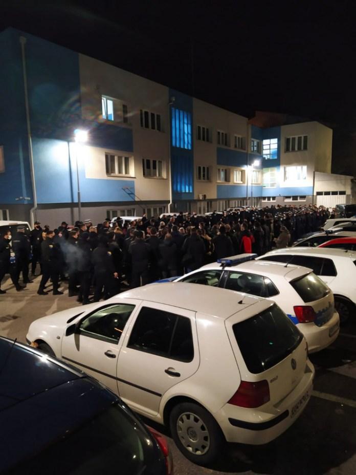 Angažiran veliki broj policajaca