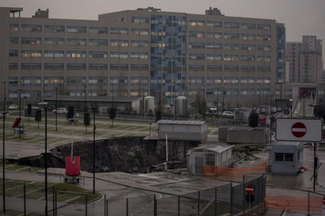 Zbog rupe bolnica ostala bez električne energije i vode