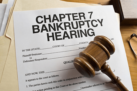 Chapter 7 bankruptcy petition wipes most debt clean