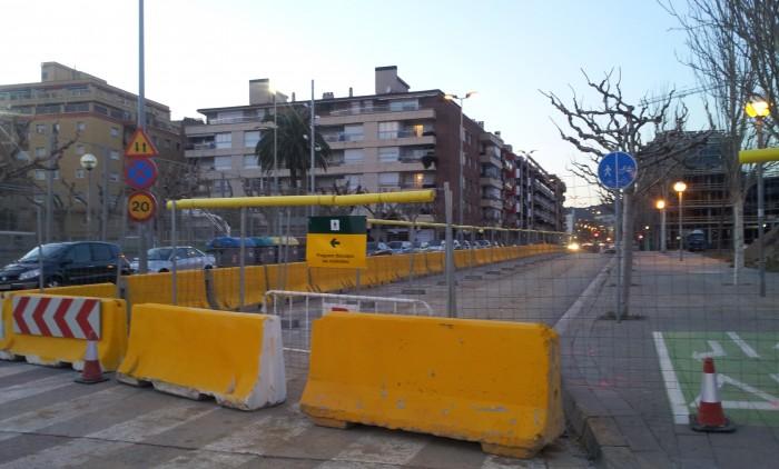 Riera Canyadó perd places d'aparcament