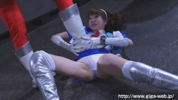 【G1】女剣士ピンクブレードVS女幹部デスクイーン 愛と憎しみの肉人形005
