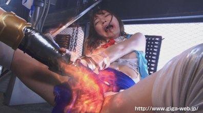 【G1】女剣士ピンクブレードVS女幹部デスクイーン 愛と憎しみの肉人形017