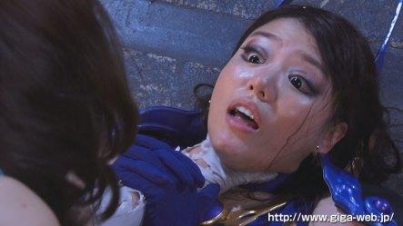 【G1】女剣士ピンクブレードVS女幹部デスクイーン 愛と憎しみの肉人形019