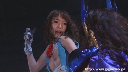 【G1】女剣士ピンクブレードVS女幹部デスクイーン 愛と憎しみの肉人形020