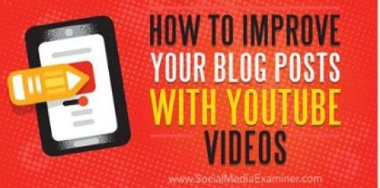 YouTube in blogs