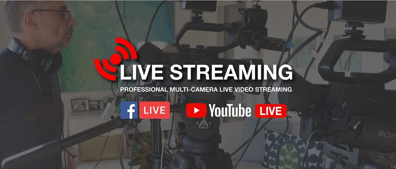 Pro cameras for the best live video streaming.