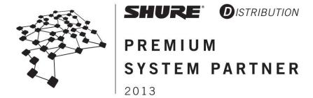 Shure Premium Systems Partner for System Sales