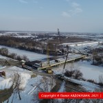 Мост через канал Днепр-Донбасс и путепровод над Т-04-12