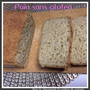 Mix Pain Et Pain Sans Gluten Moelleux Au Thermomix Ou Autre