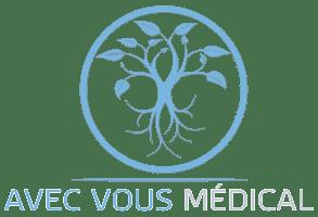 Logo avec vous médical location & vente de matériel médical