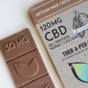CBD Milk Chocolate Peanut Butter and Honey - 120mg CBD