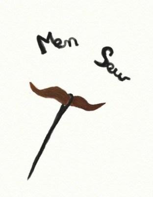 moustache aiguille s
