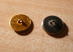 boutons métal