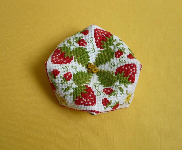 biscornu fraises