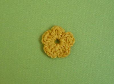 fleur facile à crocheter