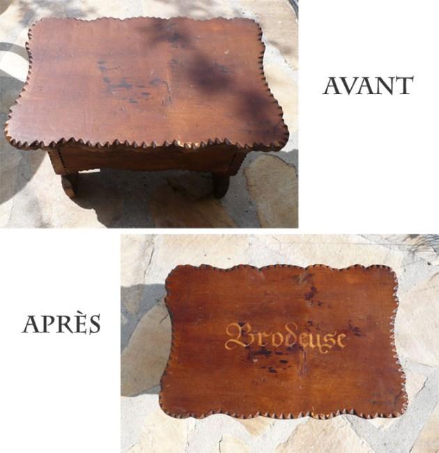 customiser un meuble avec du dissolvant à ongle1