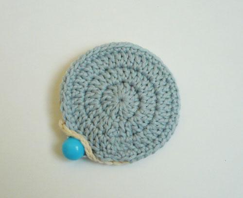mini pochette crochet tuto